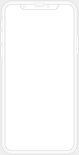 iPhone Phone Outline